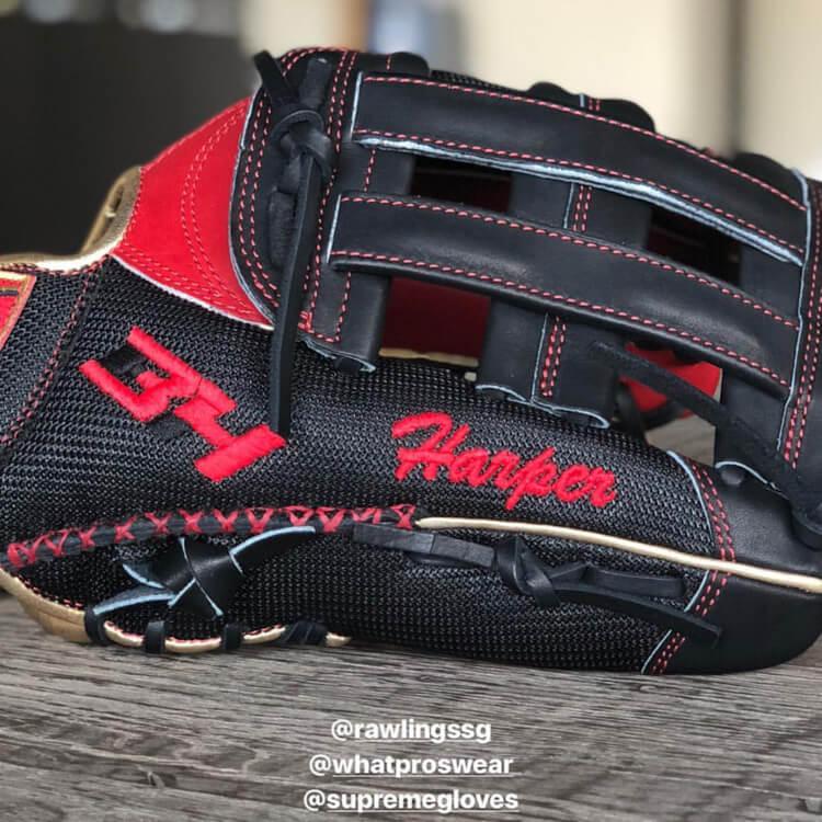 Bryce Harper Rawlings Glove 2018-2