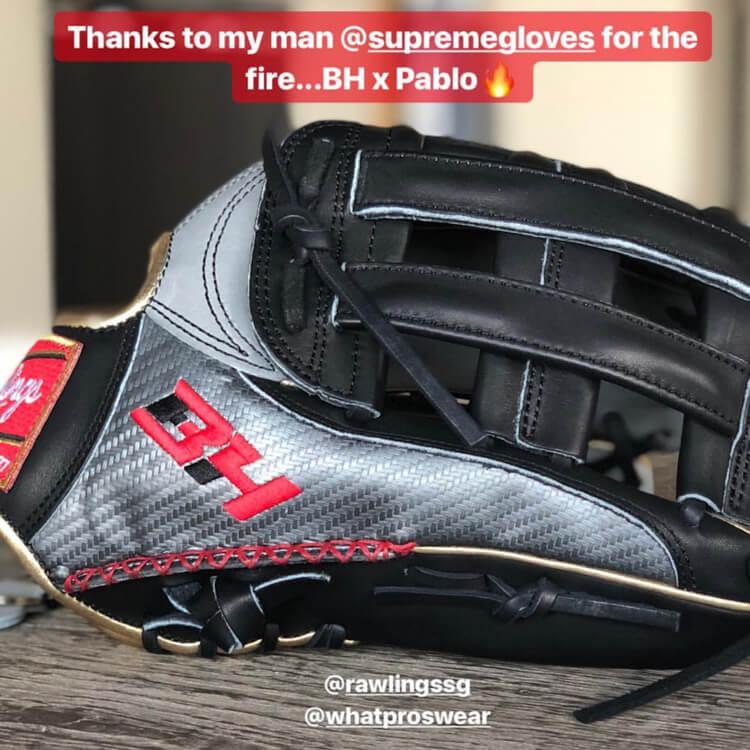 Bryce Harper Rawlings Glove 2018-3