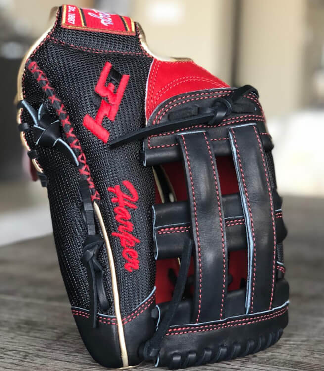 Bryce Harper Rawlings Glove 2018-9