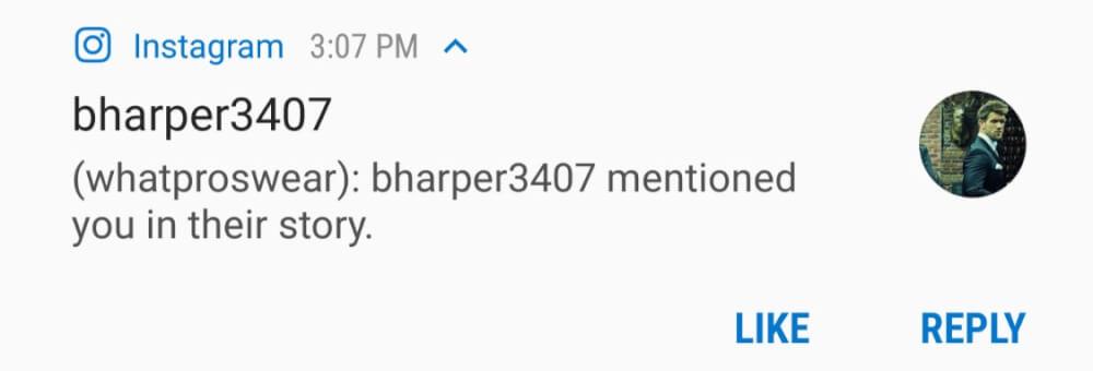 bharper mention