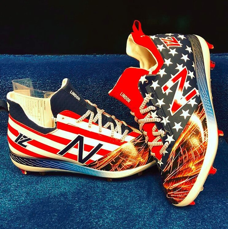 american flag new balance cleats