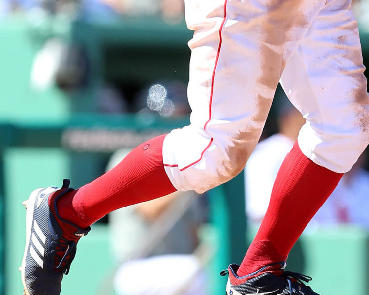 What Pros Wear: The Cleats of the ALCS: Betts, Price