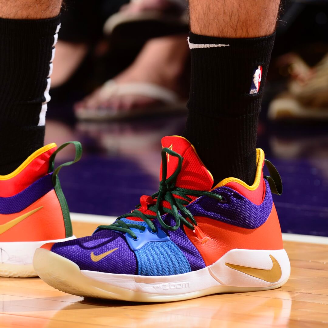 Jayson Tatum's Nike PG 2 Shoes
