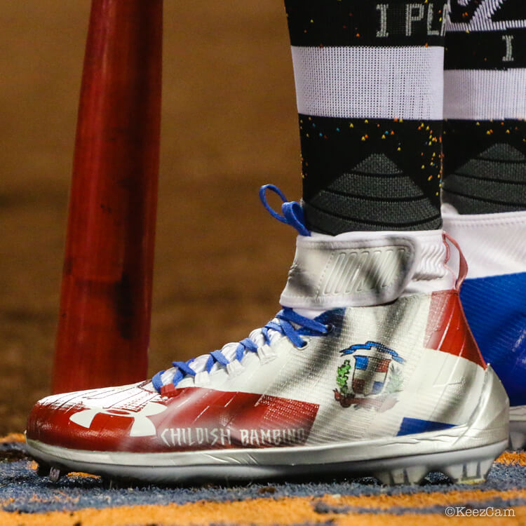 b02a0384221e Ten percent (+4%) of MLB starters wore hybrid or composite cleats like Juan  Soto s Harper 3. For the first time