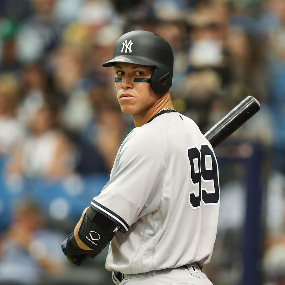 What Pros Wear Aaron Judge S Evoshield Elbow Guard What