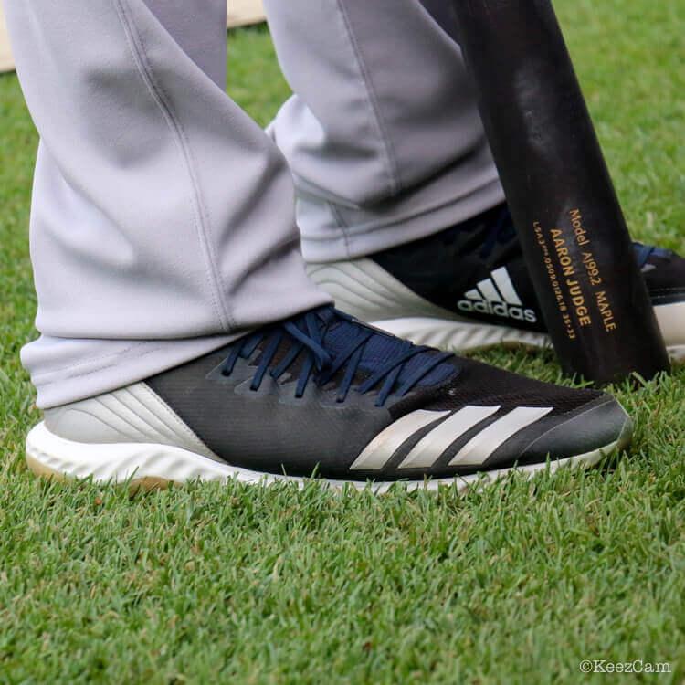 Aaron Judge's Adidas Icon 4 Bounce Cleats
