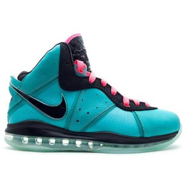 LeBron James' Nike LeBron 8 Shoes