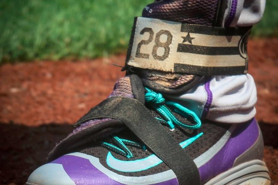 the latest acde7 12128 What Pros Wear: Nolan Arenado's Nike Air Huarache 2K Filth ...
