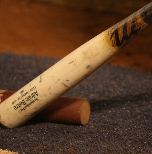 What Pros Wear: Rougned Odor's Tucci CU26 Maple Bat - What