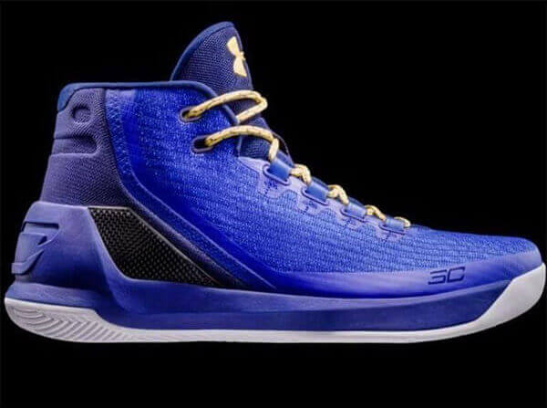 Steph Curry's Under Armour Curry 3 Shoes