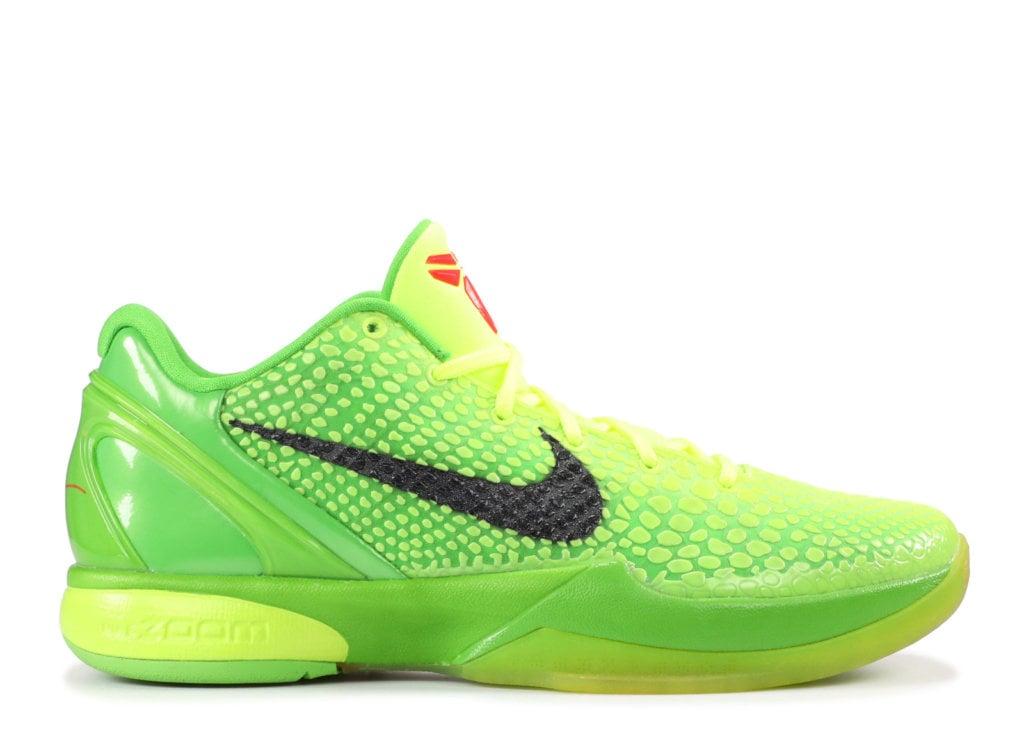 Kobe Bryant's Nike Zoom Kobe 6 Shoes