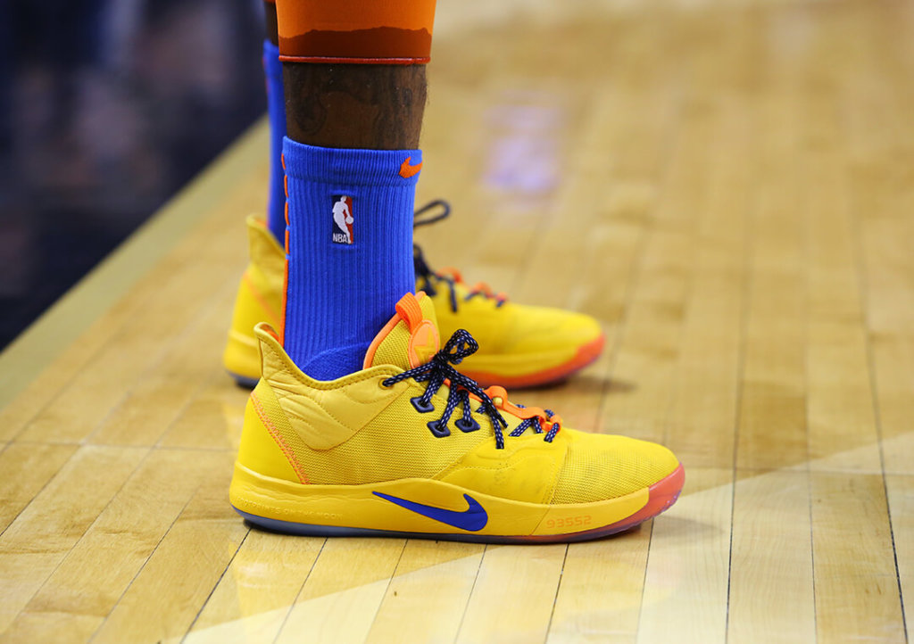 reputable site 63545 b4327 What Pros Wear: Paul George's Nike PG 3 Shoes - What Pros Wear