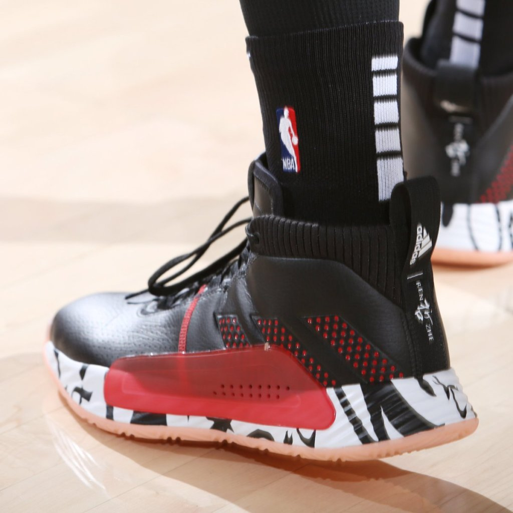 What Pros Wear Damian Lillard S Adidas Dame 5 Shoes