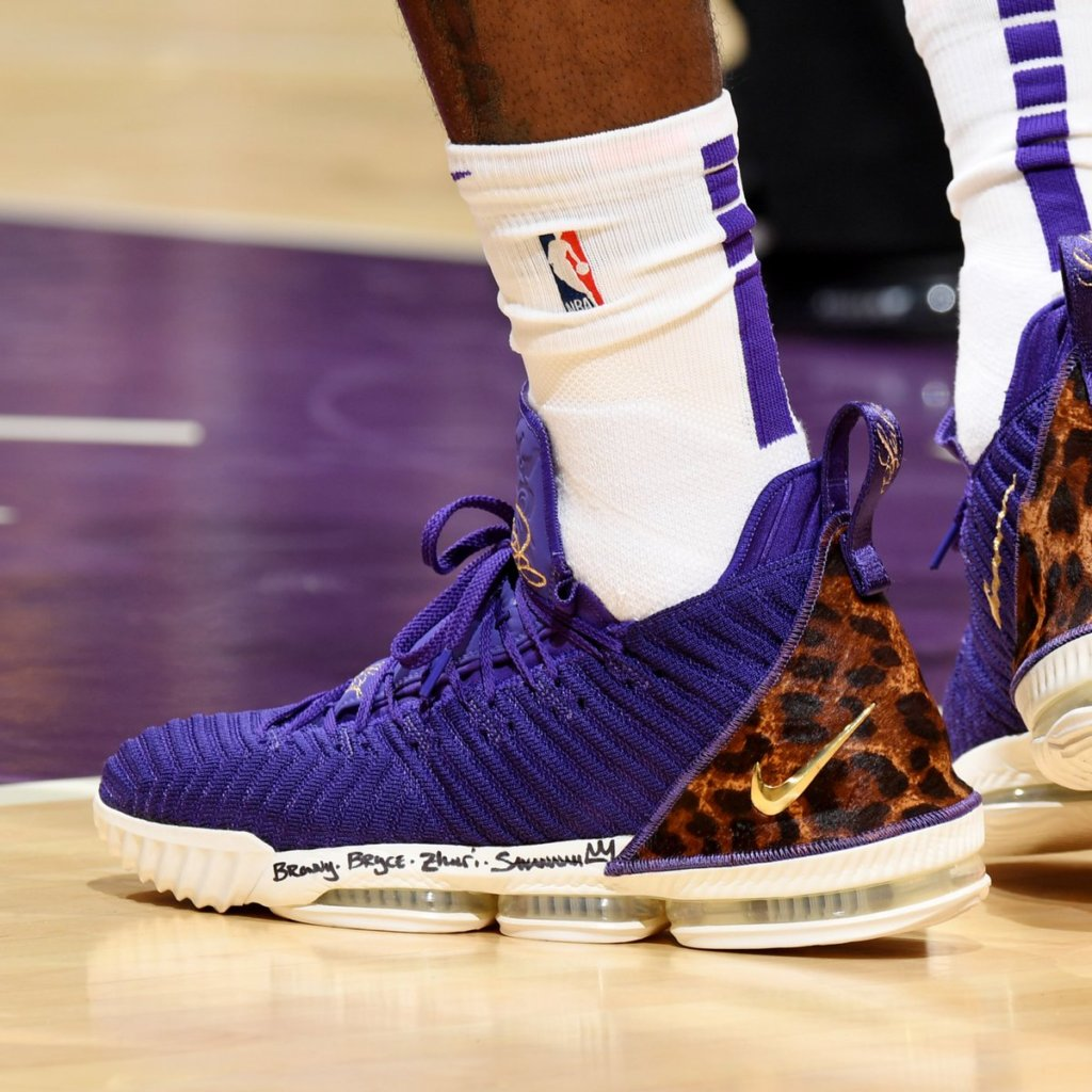 promo code 23667 32a06 What Pros Wear: Lebron James' Nike Lebron 16 Shoes - What ...