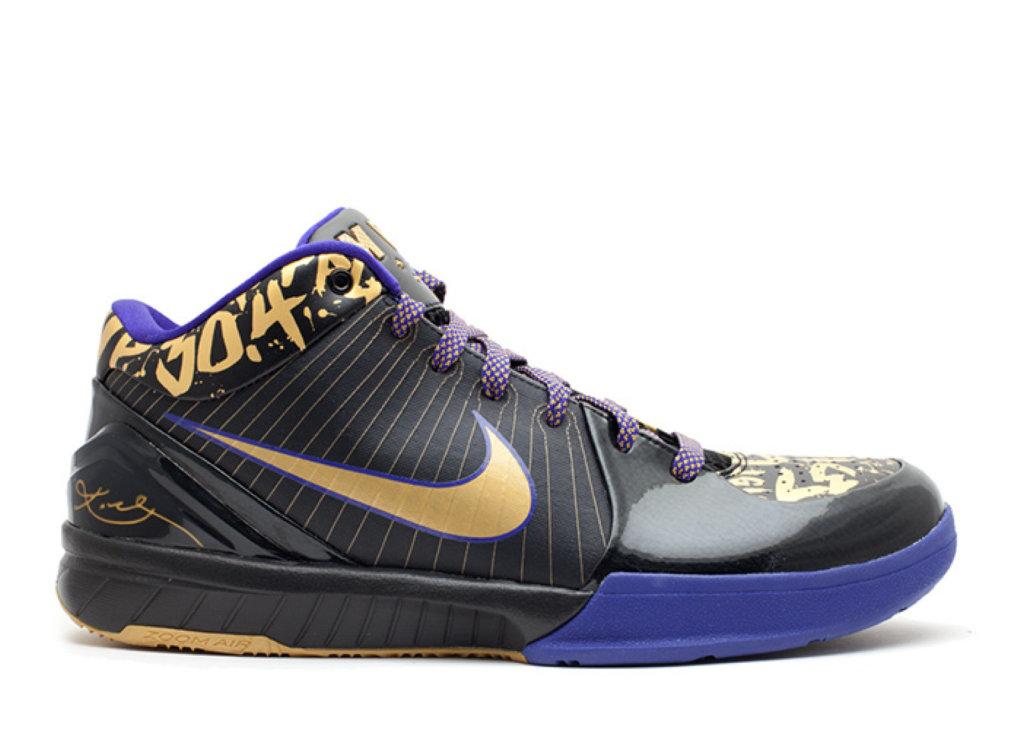 Kobe Bryant's Nike Zoom Kobe 4 Shoes