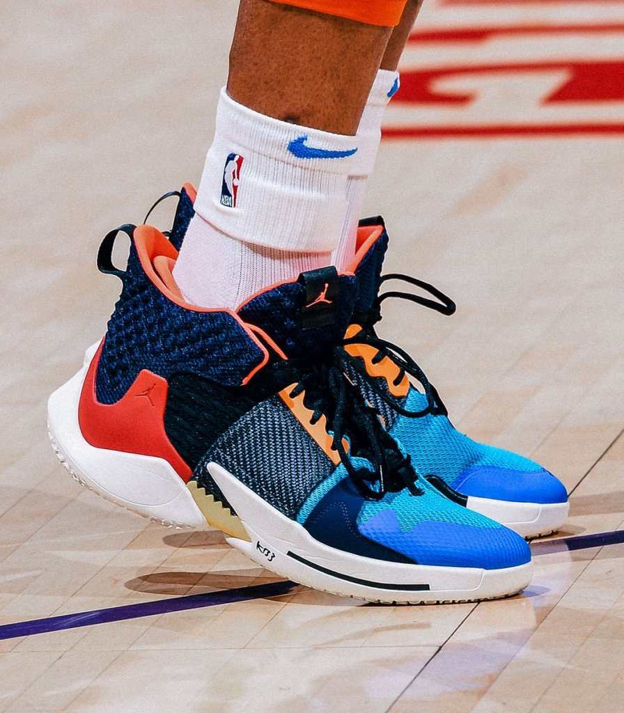 What Pros Wear: Russell Westbrook's Air Jordan Why Not Zer0.2 ...