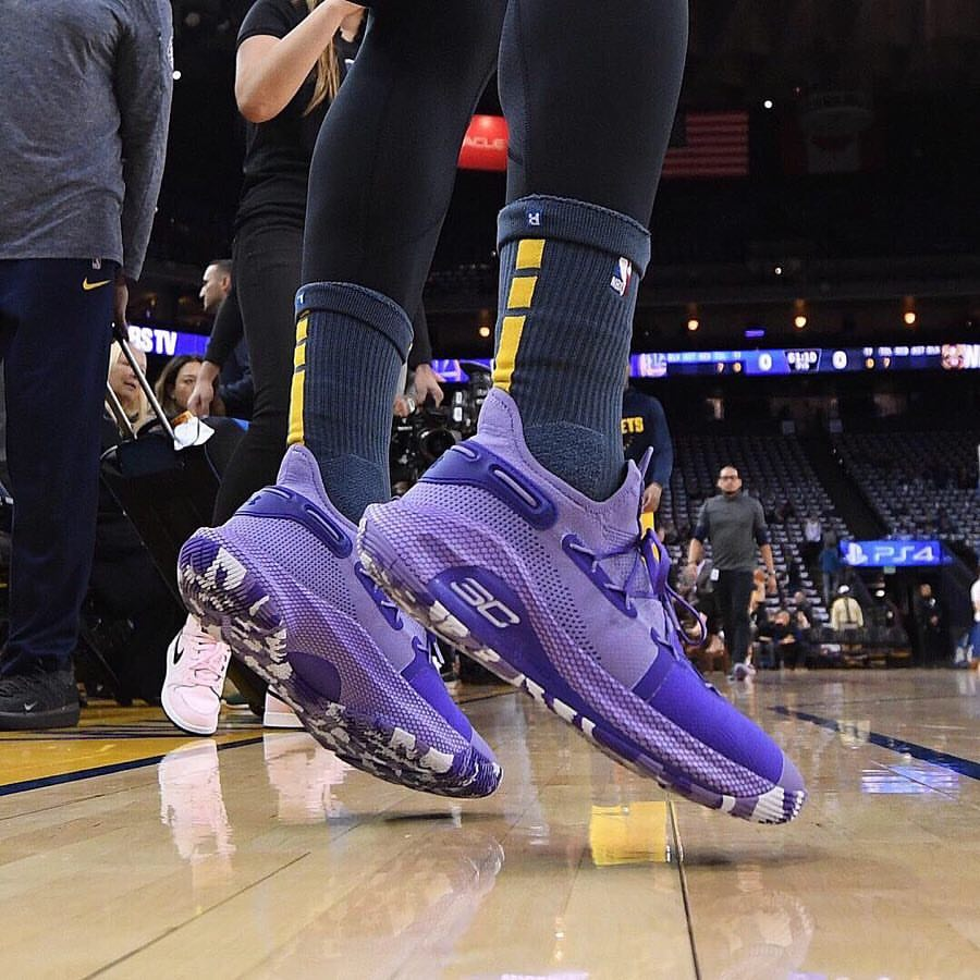 07c7745b What Pros Wear: Steph Curry's Under Armour Curry 6 Shoes - What Pros Wear