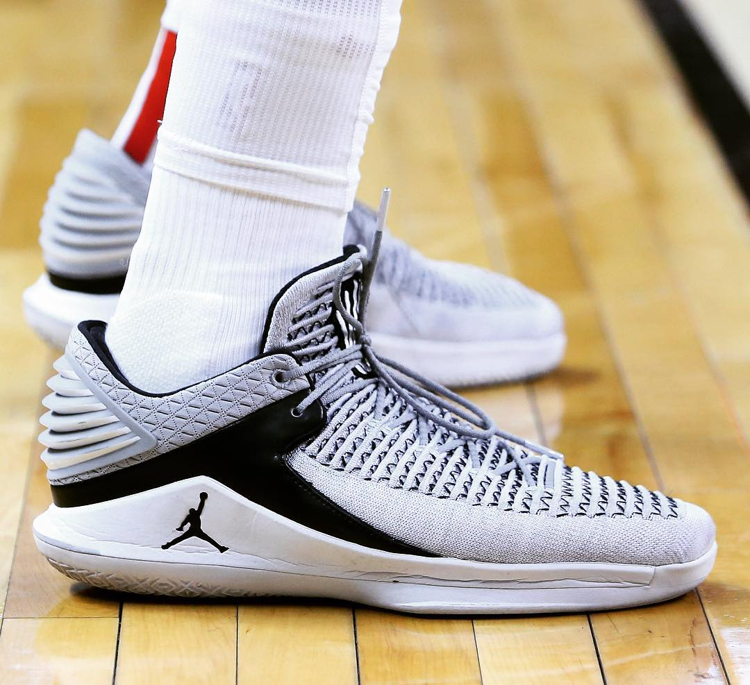 41ea79edbd1 Kawhi Leonard played some of his best games in the Air Jordan XXXI, but his  lowest lows came in the sequel rocking the Air Jordan XXXII. Much like the  XXXI, ...