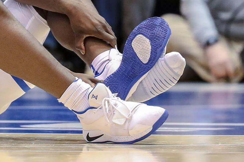 watch eabcc 8ee7b What Pros Wear: Zion Williamson's Nike PG 2.5 Shoes - What ...
