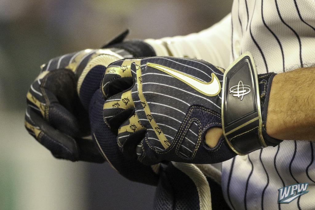 What Pros Wear: Giancarlo Stanton's Nike Huarache Elite Batting ...