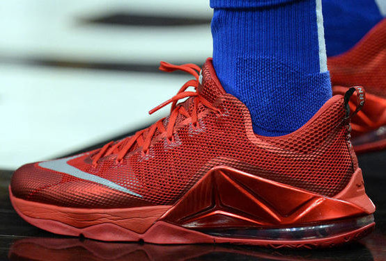 Consciente Litoral nariz  What Pros Wear: : Luka Doncic's Nike LeBron 12 Low Shoes