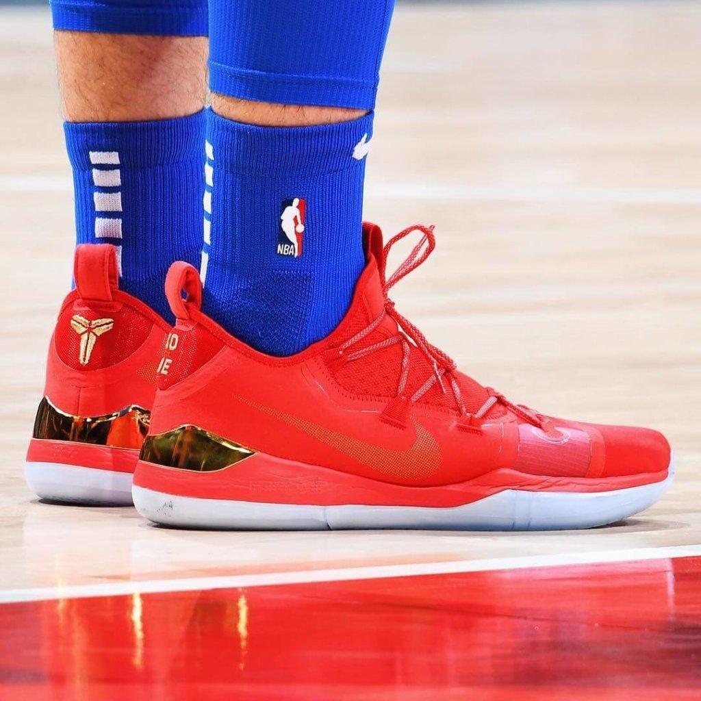 Luka Doncic's Nike Kobe AD 2018 Shoes