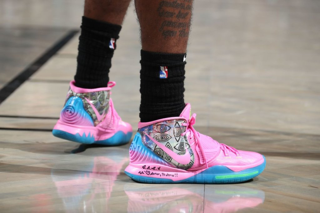 Kyrie Irving's Nike Kyrie 6 Shoes