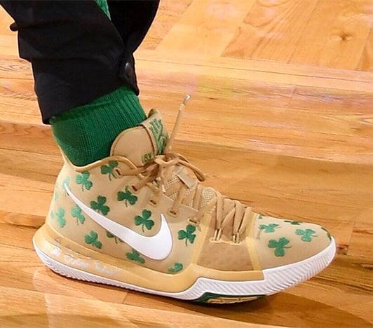 Jayson Tatum's Nike Kyrie 3 Shoes