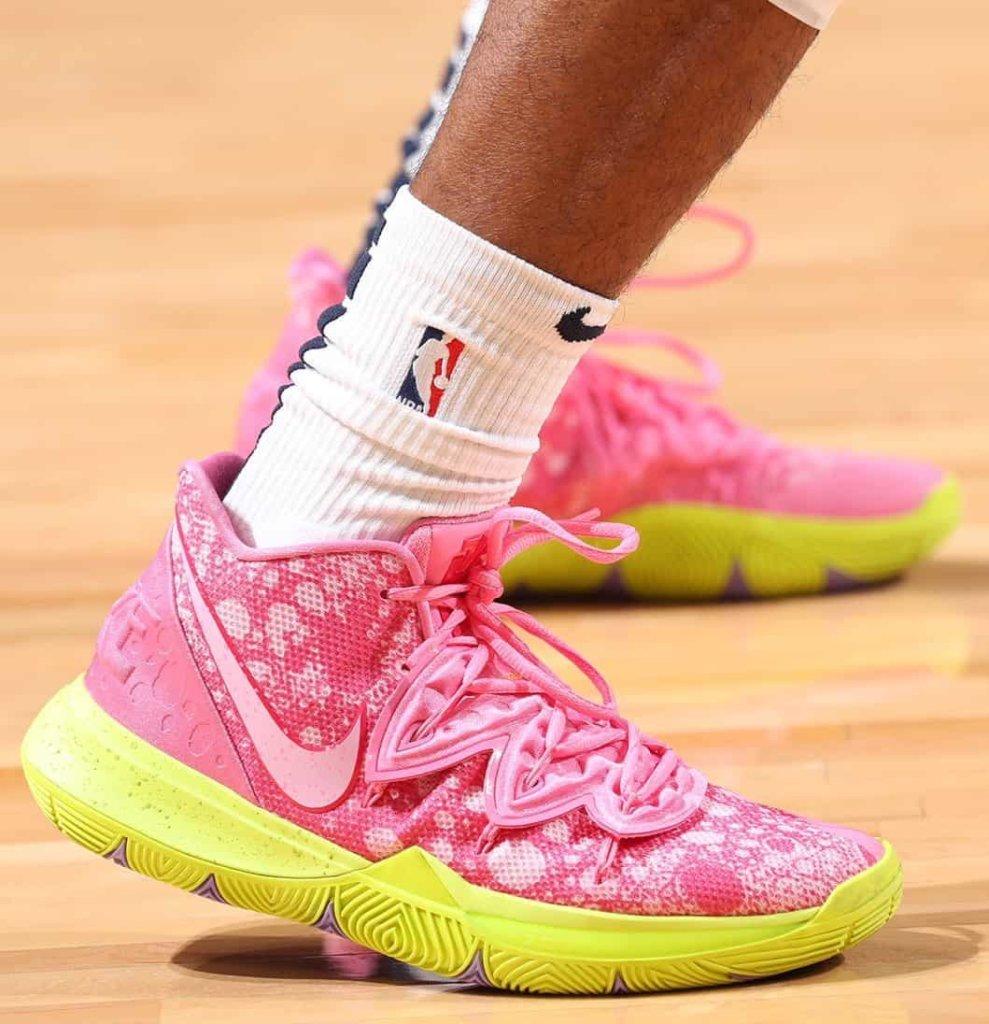 Ja Morant's Nike Kyrie 5 Shoes