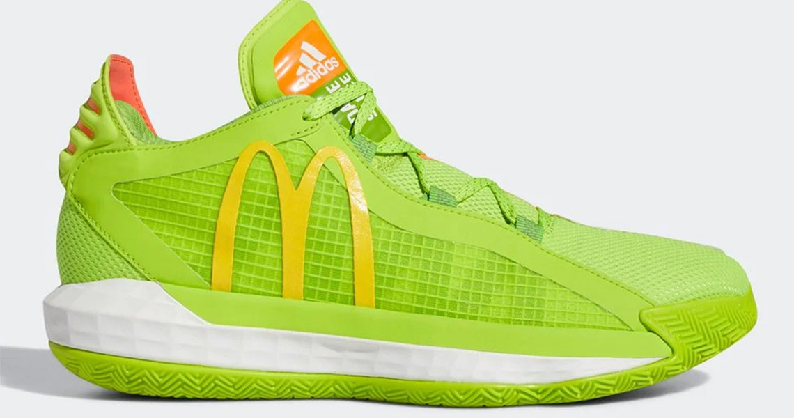 What Pros Wear Adidas Collabs With Mcdonald S On Damian Lillard S Dame 6 Dame Sauce