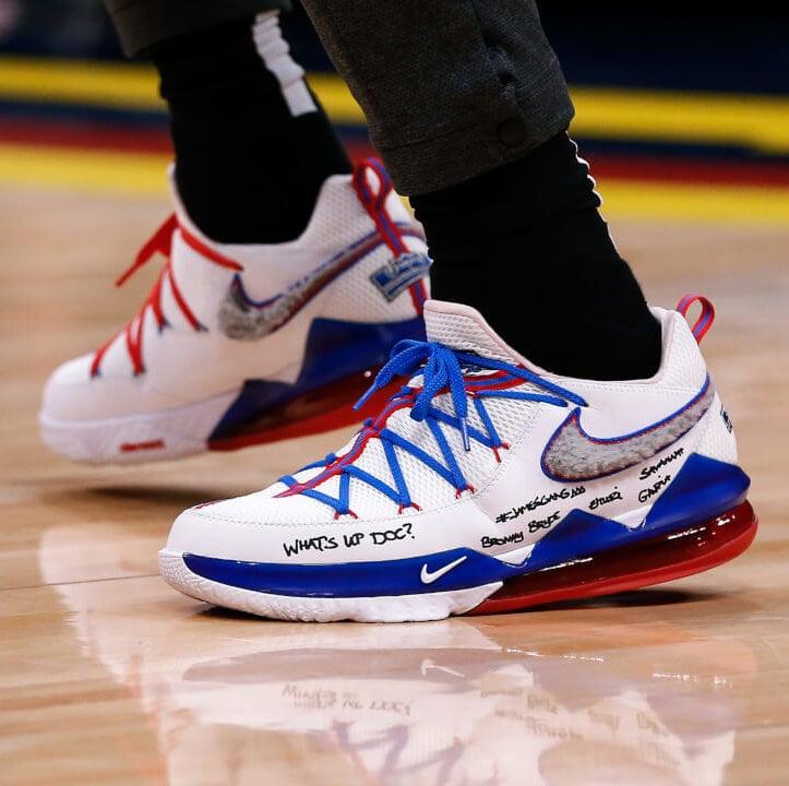LeBron James' Nike LeBron 17 Low Shoes