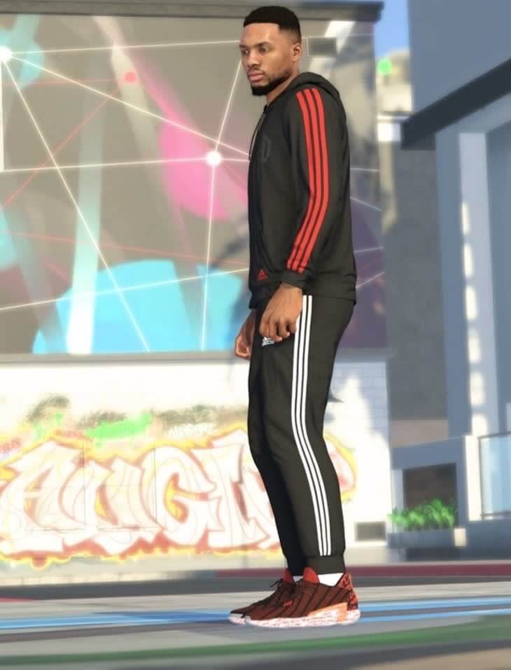 What Pros Wear The Adidas Dame 7 Debuts On Nba 2k21