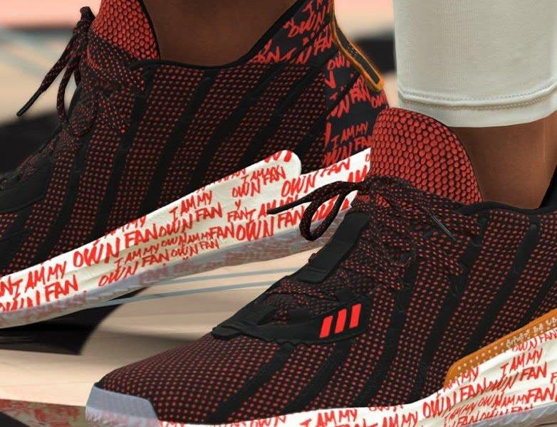 The adidas Dame 7 Debuts on NBA 2K21